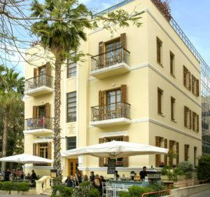 Rothschild 96 luxury boutique hotel in tel aviv