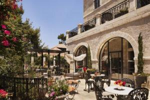 villa brown boutique hotel in jerusalem