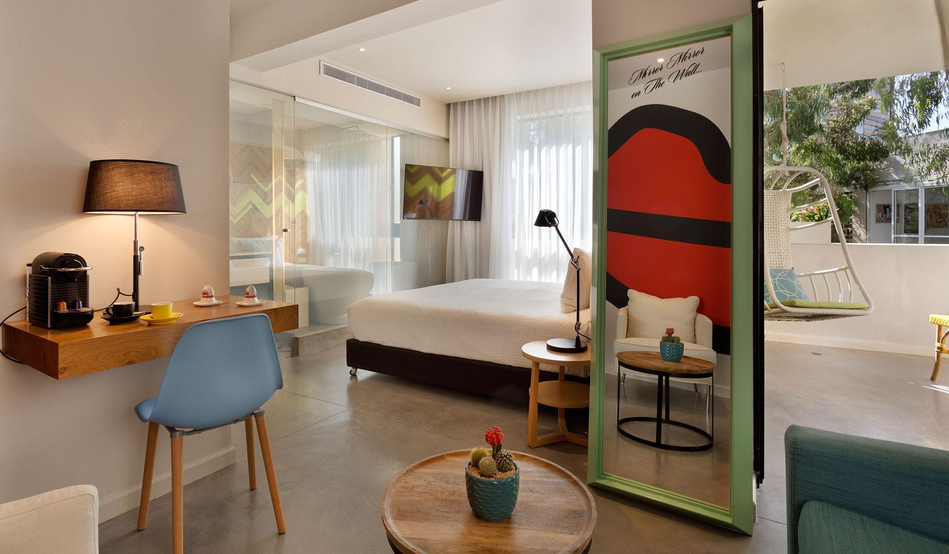 Hotel Cucu | Boutique Hotel in Tel Aviv by - UniqueHotels.co.il